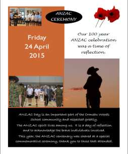 2015 Anzac Day celebrations