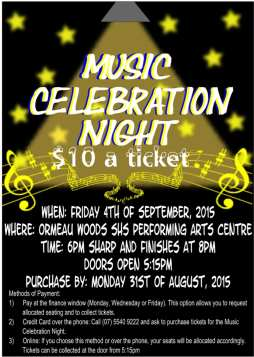 Annual Music Celebration Night