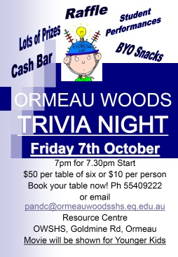 P and C Trivia Night
