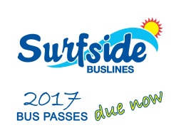 Surfside 2017 Bus Pass Announcement