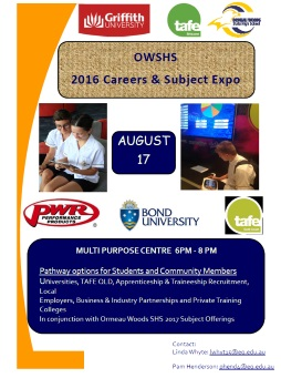 2016 Careers and Subject Expo