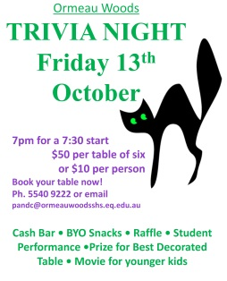 Ormeau Woods Trivia Night