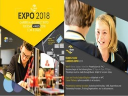 2018 Careers Expo and Year 9 Senior Subject Selection