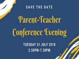2018 Parent-Teacher Conference Evening
