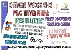 OWSHS P and C Trivia Night