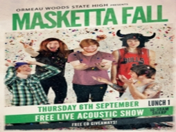 Masketta Fall performs at Ormeau Woods