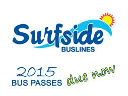 Applications for 2015 Bus Passes are due now